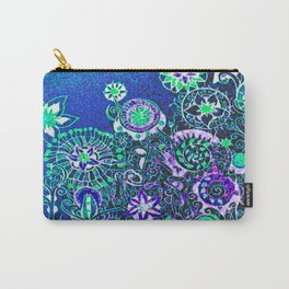 """flowers"" Carry-All Pouch"