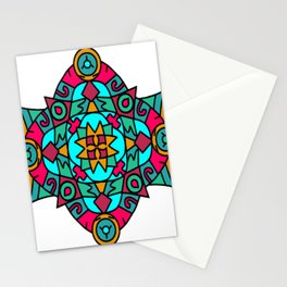Mystic Fire Dragon Mandala Stationery Cards