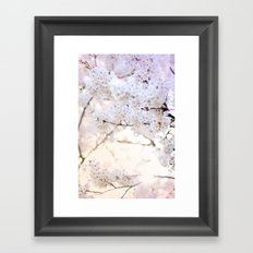 Water-colour Spring #3 Framed Art Print