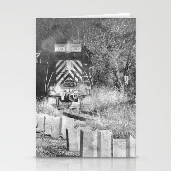 Train Spotting Stationery Cards