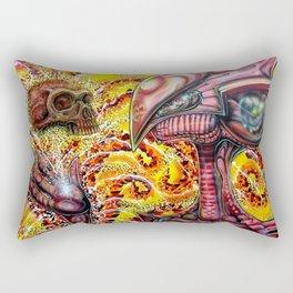 Imagining Cro magnon  Rectangular Pillow