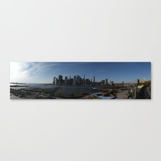 Downtown New York Canvas Print