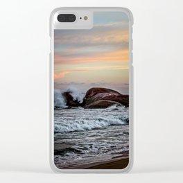 Sri Lankan Sunset Clear iPhone Case