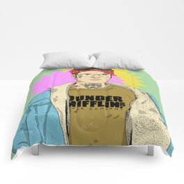 Prison Dwight Comforters