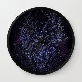 Heart of Night Wall Clock