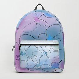 Hydrangea blues Backpack