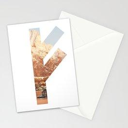 viking symbol 11 Stationery Cards