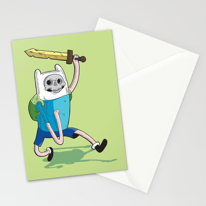 DEAD TIME Stationery Cards