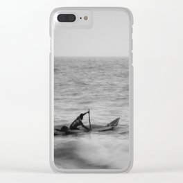The Traveler - India Clear iPhone Case