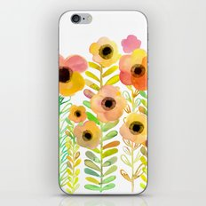 Peony field iPhone & iPod Skin