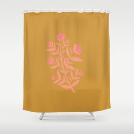 yew bundle Shower Curtain