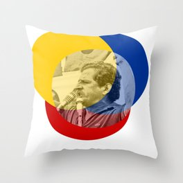 Galán Shouts of Glory Throw Pillow