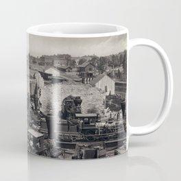Civil War, Atlanta Roundhouse destroyed, 1866  Coffee Mug