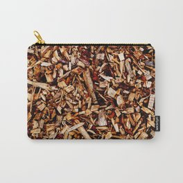 wooden chippings Carry-All Pouch