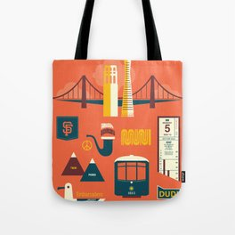 Sanfrancisco Tote Bag