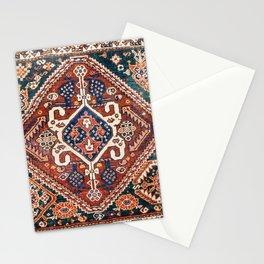 Qashqai Khorjin  Antique Fars Persian Bag Face Print Stationery Cards
