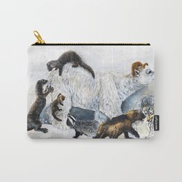 Awesome mustelids Carry-All Pouch
