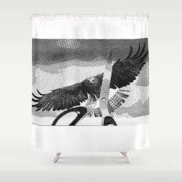 Assimilation Shower Curtain