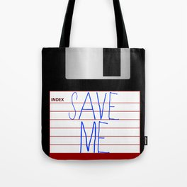 Message on the Floppy Tote Bag
