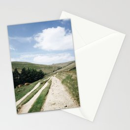 A trail in the peak district Stationery Cards