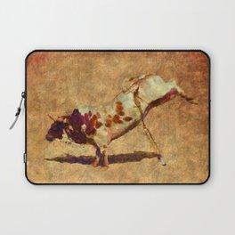 It's All Bull! - Bucking Rodeo Bull Laptop Sleeve