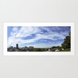 Richmond - Panorama Art Print