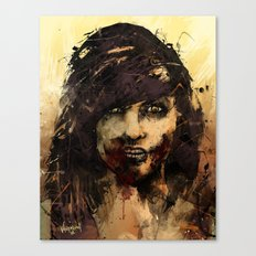 Female Zombie Canvas Print