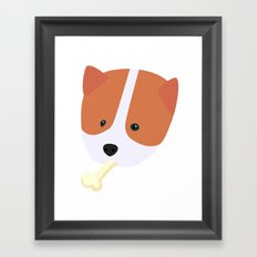 Corgi to Benny Framed Art Print