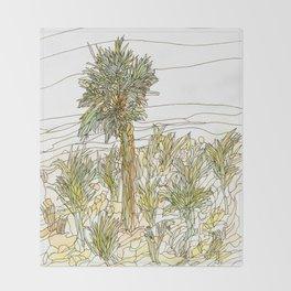 Palm Tree 1 Throw Blanket