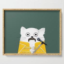 Cat Freddie Serving Tray