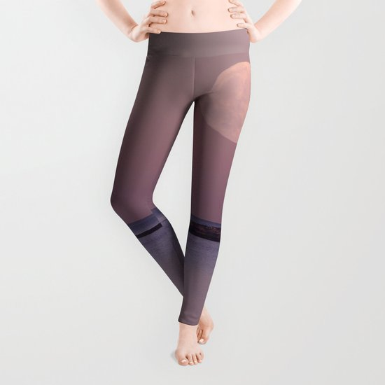 Lighthouse Moonrise Leggings