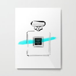 Blue perfume Metal Print