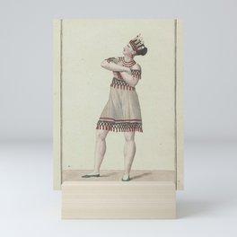 Queriau Mme creator HenryMme Queriau dans le ballet des Sauvages de la FlorideAdditional Sauvages de la Floride Mini Art Print