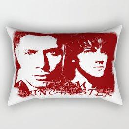 Team Winchester Rectangular Pillow