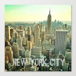 NYC Sunset Canvas Print