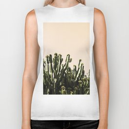 cactus nature x Biker Tank