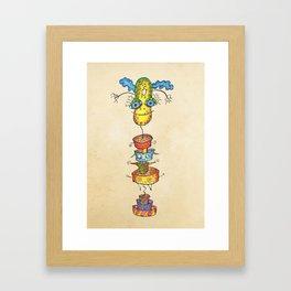 Heston Framed Art Print