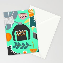 Ready for winter Stationery Cards