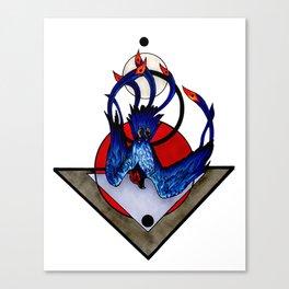 Sulfur Phoenix Canvas Print