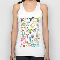 katamari Tank Tops featuring KATAMARI DAMACY by Erin Lowe