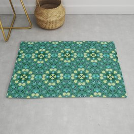Abstract flower 8 Rug