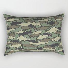 Fish Camo JUNGLE Rectangular Pillow