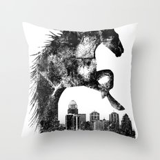 Home Of The Derby Throw Pillow