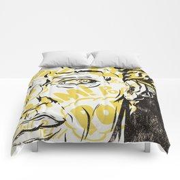 Pop Art David Comforters