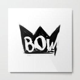 Bow Metal Print