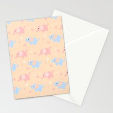 The Patterned Ear Elephant Stationery Cards