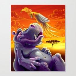 Sahara Sunset Canvas Print