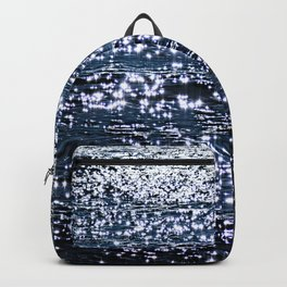 Sea Water Shimmering Surface Texture 2 Backpack