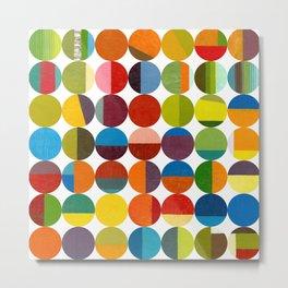 Forty Eight Circles Metal Print