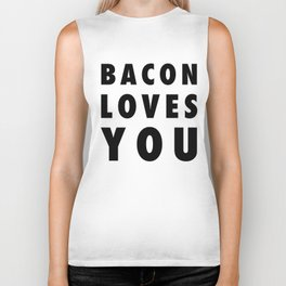 Bacon Loves You Biker Tank